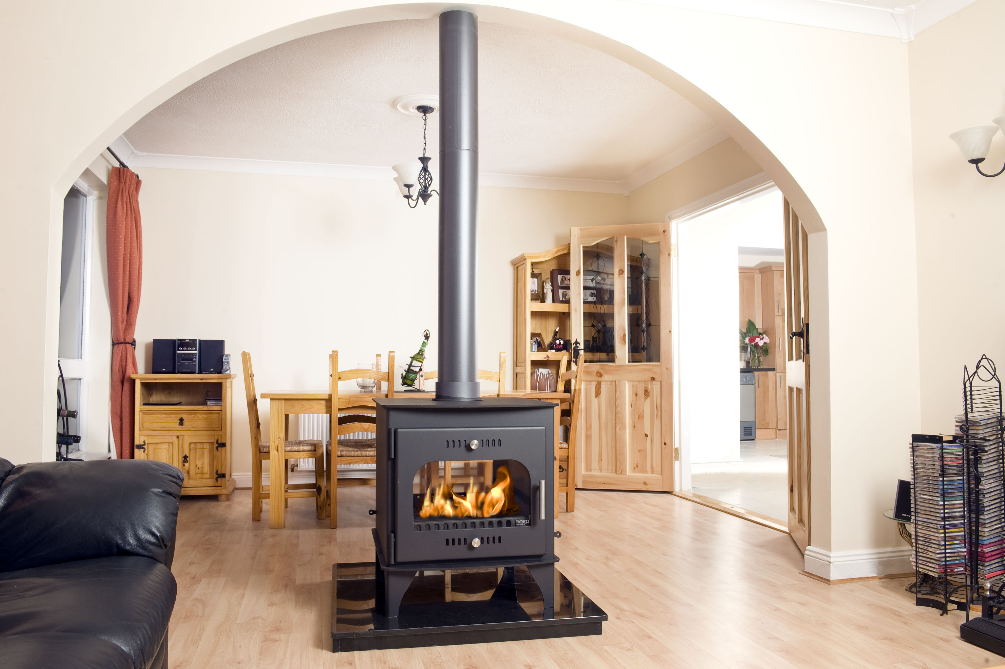 Carraig Mor Double Sided Single Depth Stove Dry - StovePartsDirect.ie