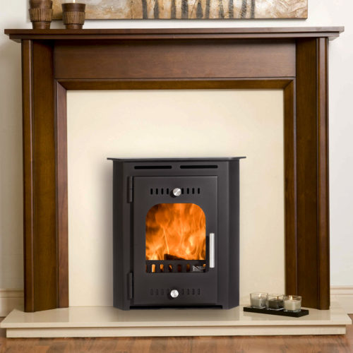 a 3D image of croi beag insert dry stove