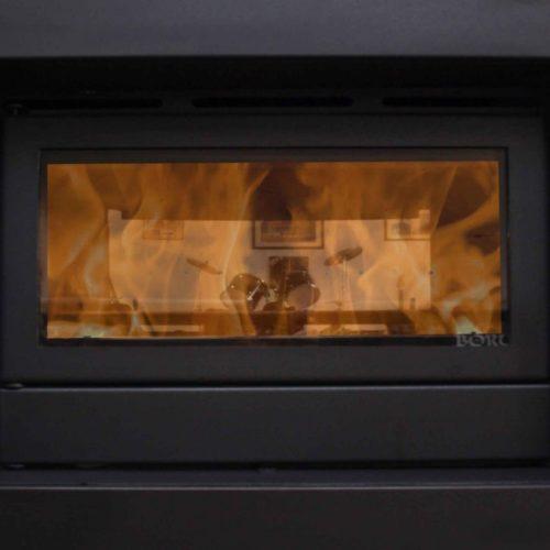 image of Boru double sided 900i stove