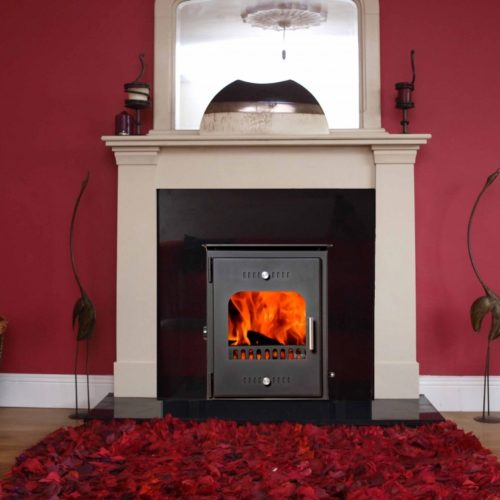 a 3D image of chieftain insert boiler stove