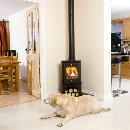 3D image of Fiachra 6kW Freestanding Dry Stove