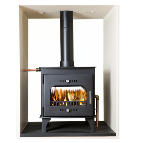 Boru Double Sided Stove Double Depth Boiler Stove